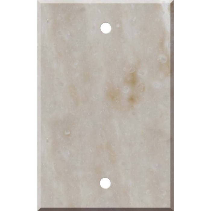 Corian Sandalwood Blank Wall Plate Cover