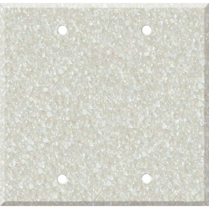 Corian Savannah Double Blank Wallplate Covers
