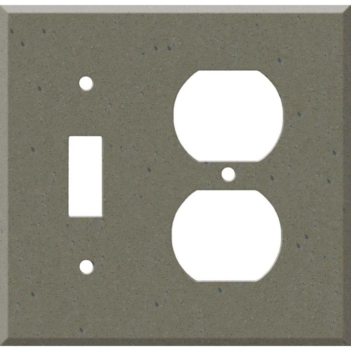 Corian Serene Sage Combination 1 Toggle / Outlet Cover Plates