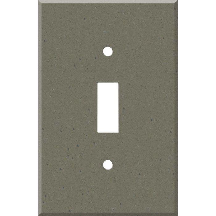 Corian Serene Sage 1 Toggle Light Switch Cover