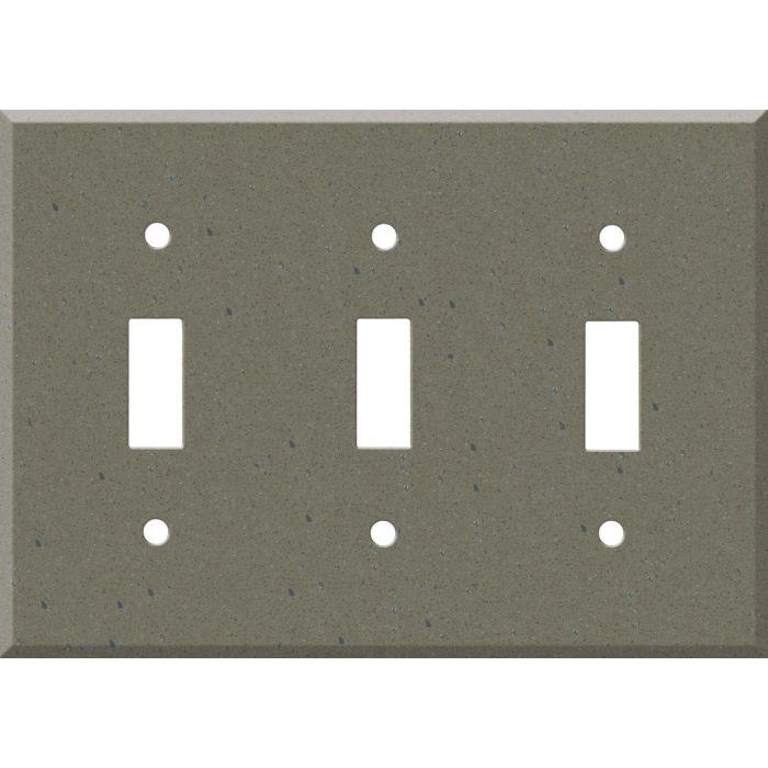 Corian Serene Sage Triple 3 Toggle Light Switch Covers