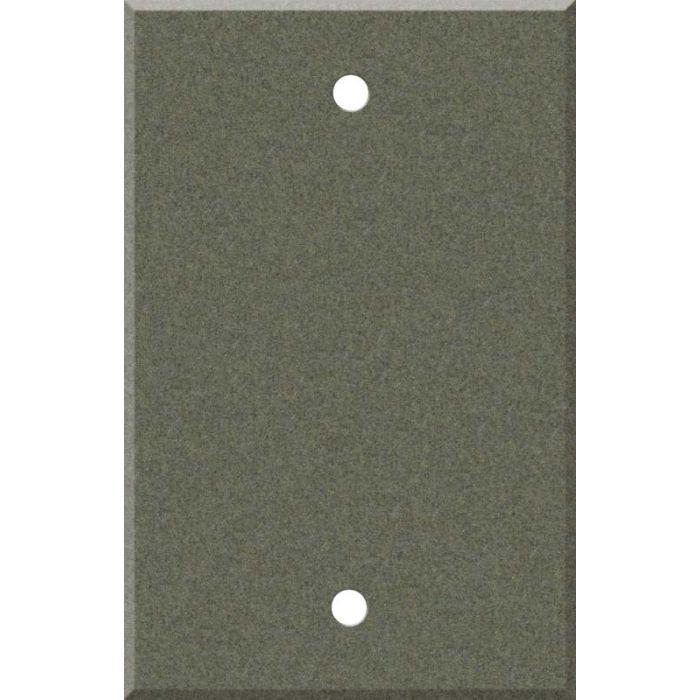 Corian Silt Blank Wall Plate Cover