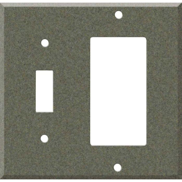 Corian Silt Combination 1 Toggle / Rocker GFCI Switch Covers