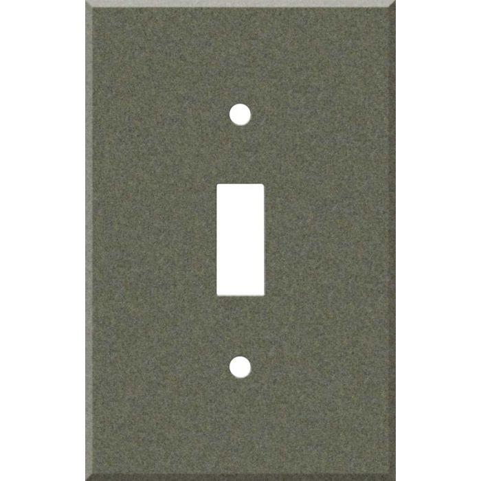 Corian Silt Single 1 Toggle Light Switch Plates