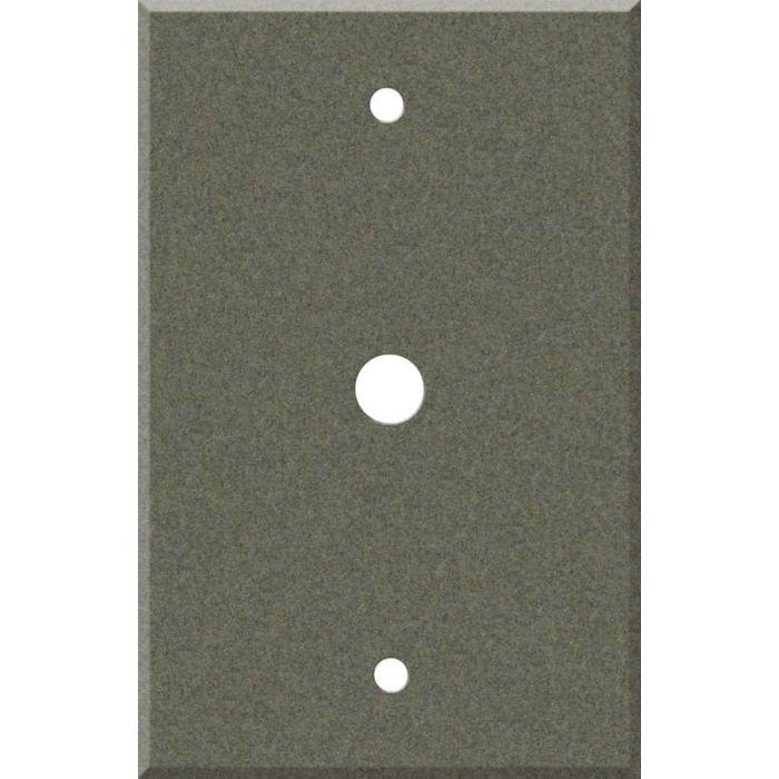Corian Silt Coax Cable TV Wall Plates