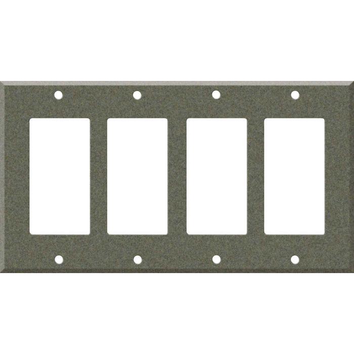 Corian Silt 4 Rocker GFCI Decorator Switch Plates