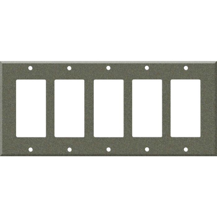 Corian Silt 5 GFCI Rocker Decora Switch Covers