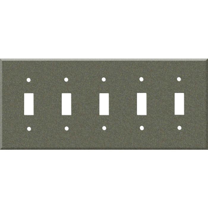 Corian Silt 5 Toggle Wall Switch Plates