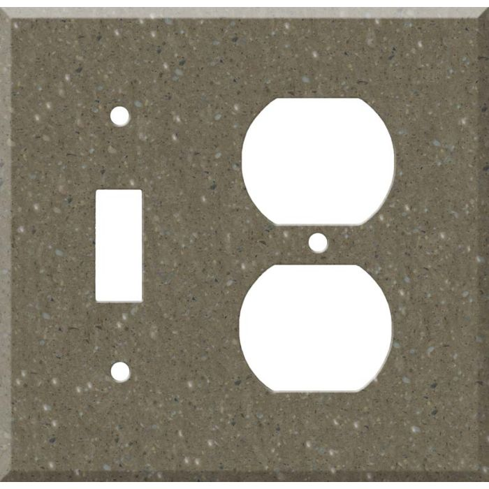 Corian Sonora Combination 1 Toggle / Outlet Cover Plates
