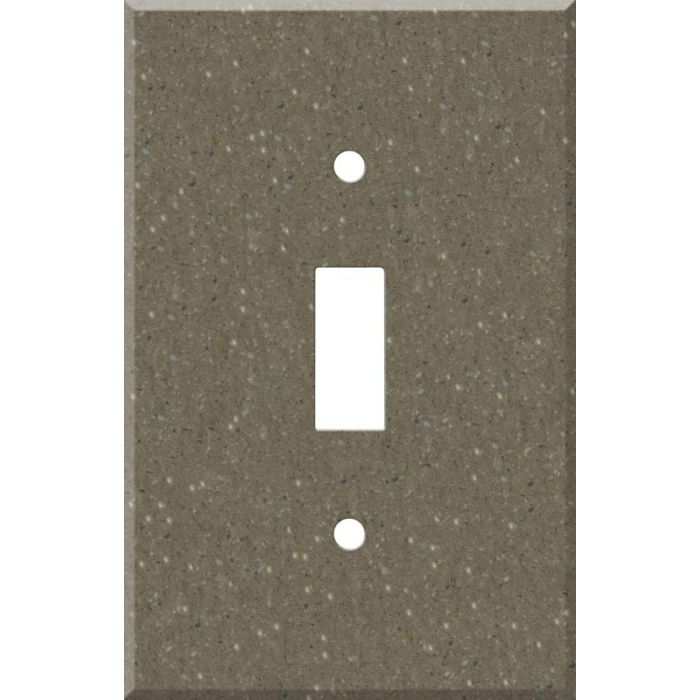 Corian Sonora Single 1 Toggle Light Switch Plates