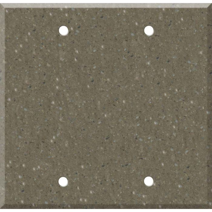 Corian Sonora Double Blank Wallplate Covers