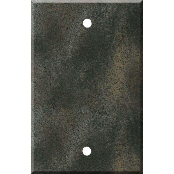 Corian Sorrel 1 Gang Blank Wall Plates