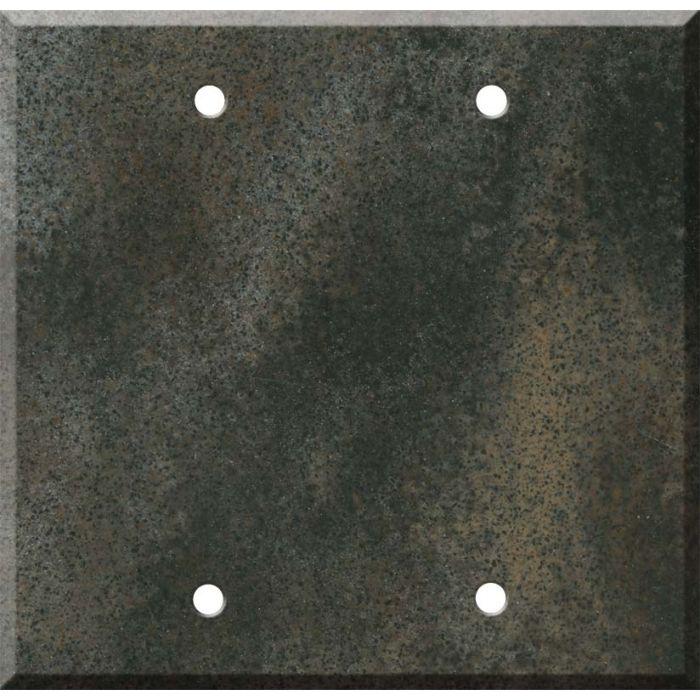 Corian Sorrel Double Blank Wallplate Covers