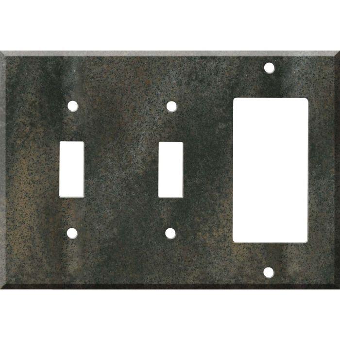 Corian Sorrel 2-Toggle / 1-GFI Rocker - Combo Switch Covers