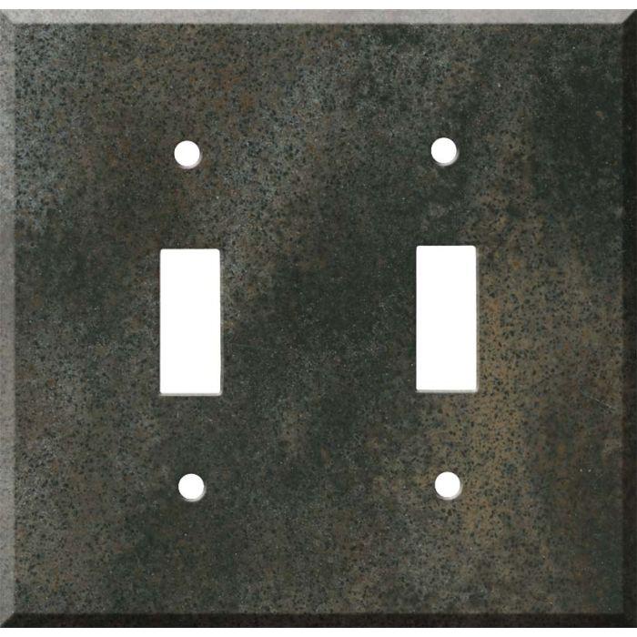 Corian Sorrel 2 Toggle Switch Plates