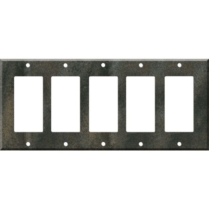 Corian Sorrel 5 GFCI Rocker Decora Switch Covers
