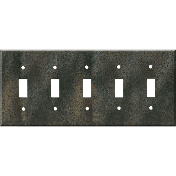 Corian Sorrel 5 Toggle Wall Switch Plates