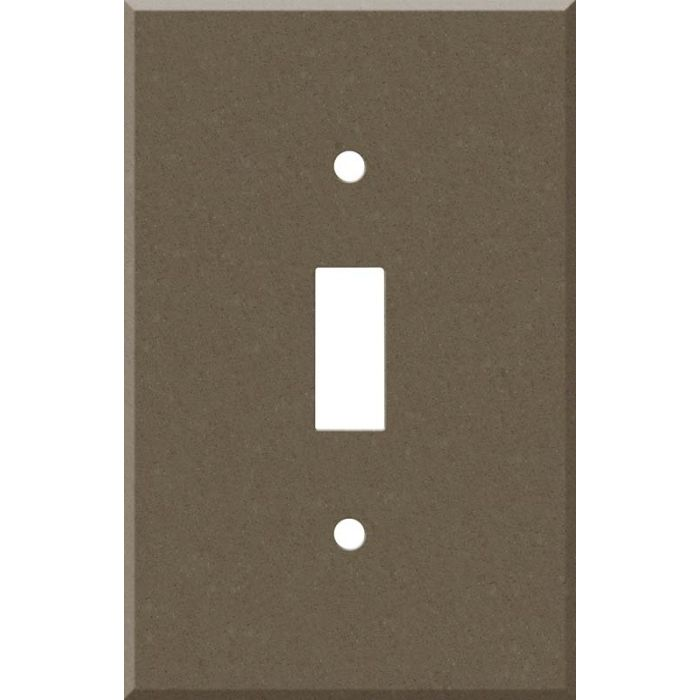 Corian Suede 1 Toggle Light Switch Cover