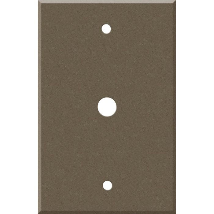 Corian Suede Coax - Cable TV Wall Plates