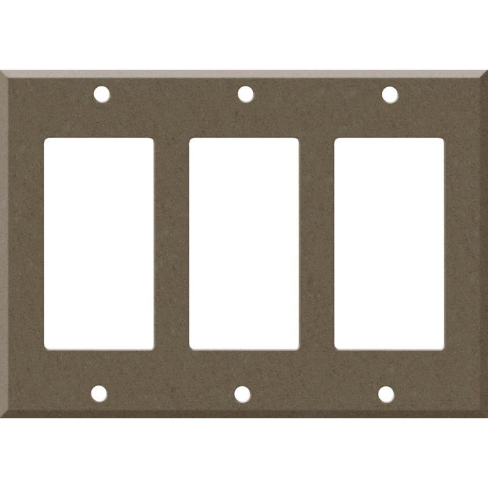 Corian Suede 3 - Rocker / GFCI Decora Switch Plate Cover
