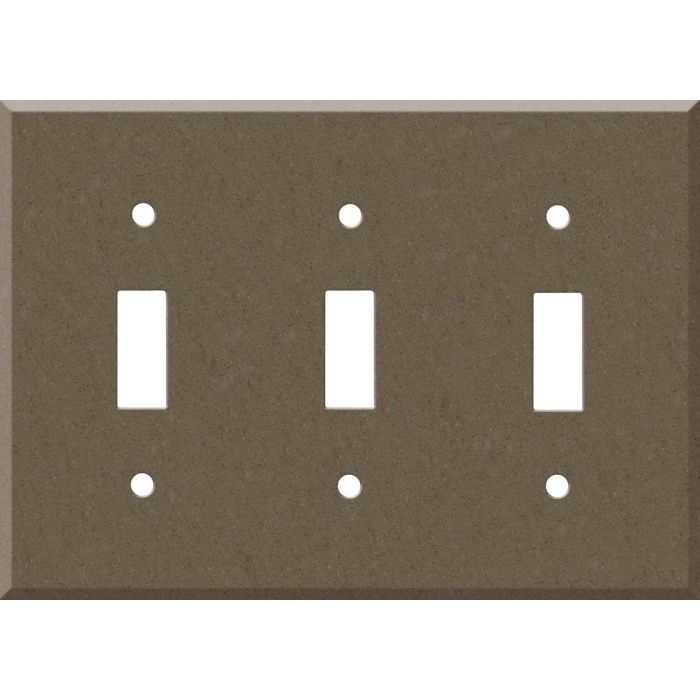 Corian Suede 3 - Toggle Switch Plates