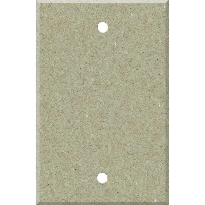 Corian Tumbleweed Blank Wall Plate Cover