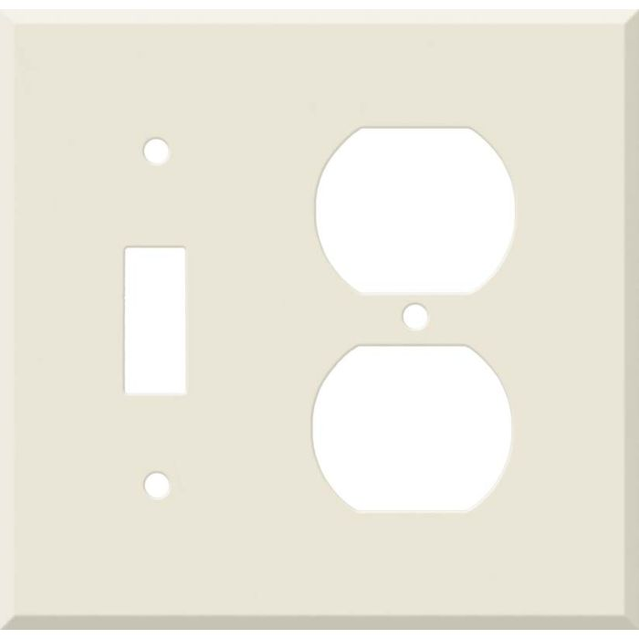 Corian Vanilla Combination 1 Toggle / Outlet Cover Plates