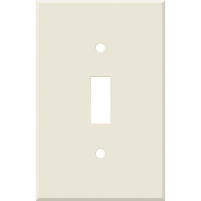 Corian Vanilla Single 1 Toggle Light Switch Plates