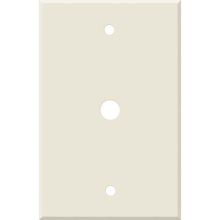 Corian Vanilla Coax Cable TV Wall Plates