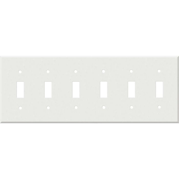 Corian Venaro White 6 Toggle Wall Plate Covers