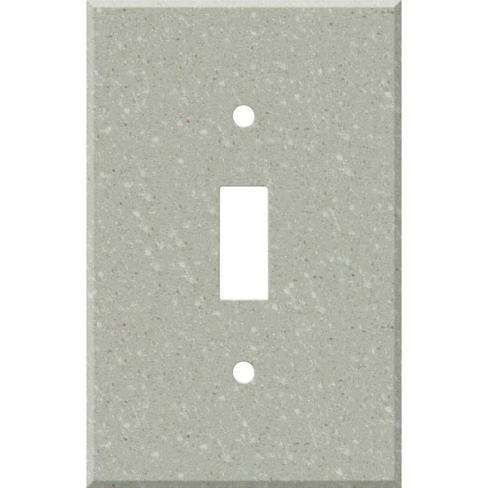 Corian Willow Single 1 Toggle Light Switch Plates