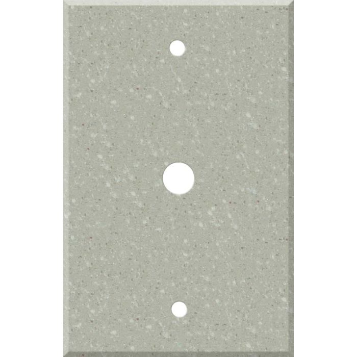 Corian Willow Coax Cable TV Wall Plates