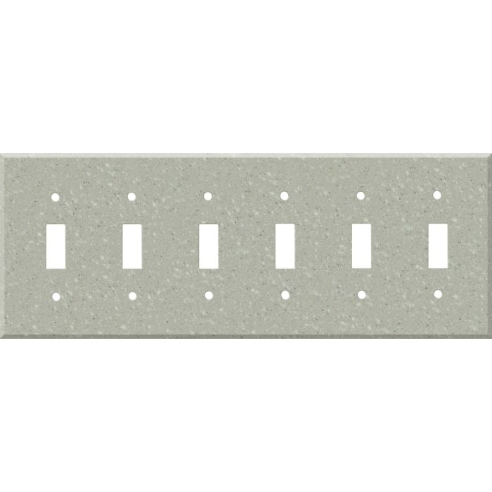 Corian Willow 6 Toggle Wall Plate Covers