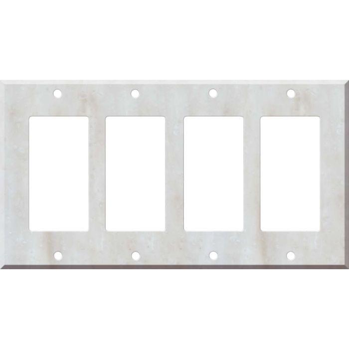 Corian Witch Hazel 4 Rocker GFCI Decorator Switch Plates