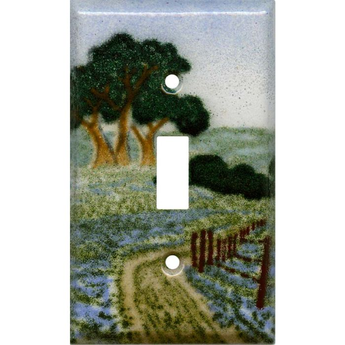 Country Road Single 1 Toggle Light Switch Plates