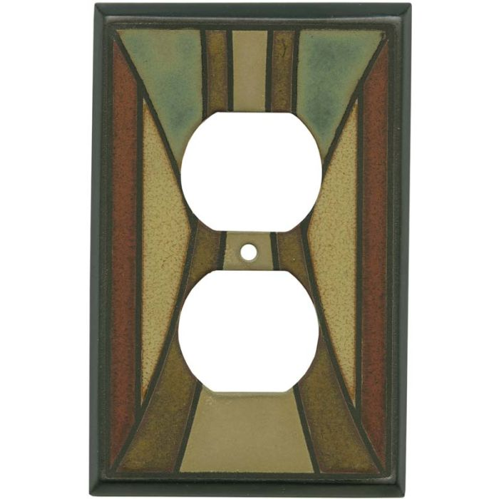 Craftsman Ceramic 1 Gang Duplex Outlet Cover Wall Plate