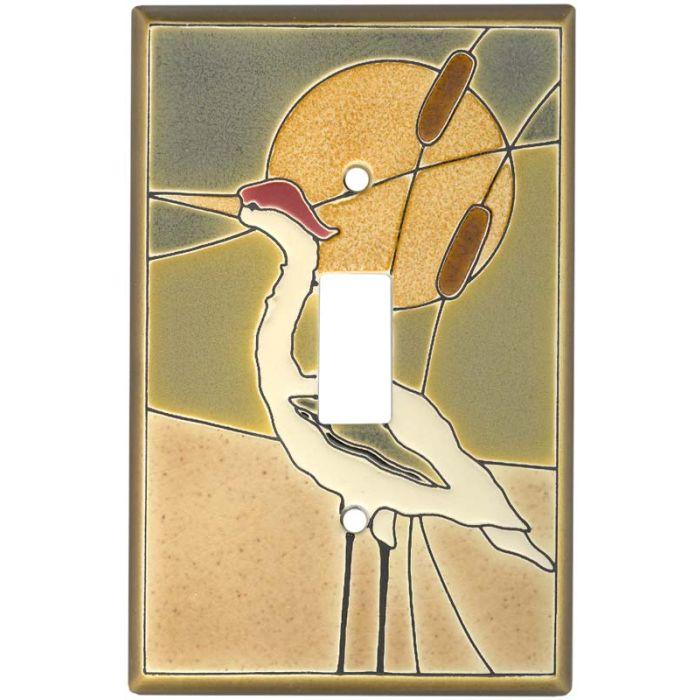 Crane Ceramic1 Toggle Light Switch Cover