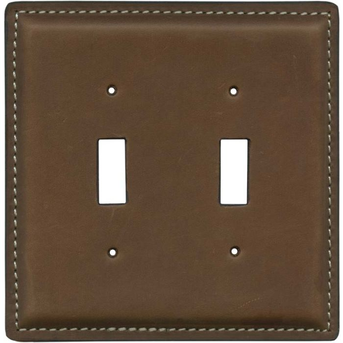Crazy Horse Tan 2 Toggle Switch Plates