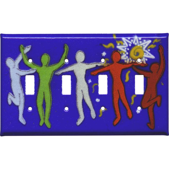 Dancers4 - Toggle Light Switch Covers & Wall Plates