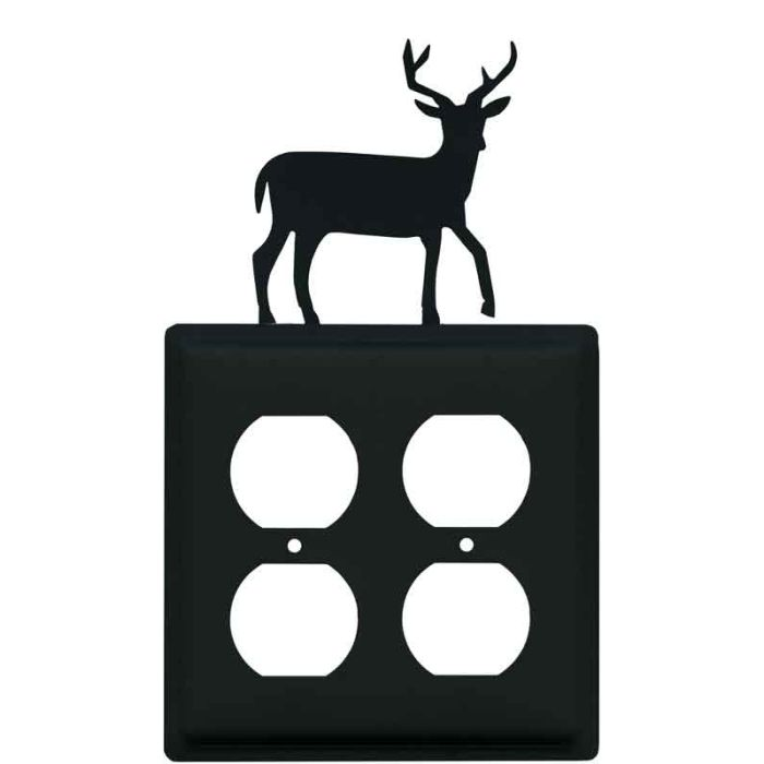 Deer Wall Plates Outlet Covers