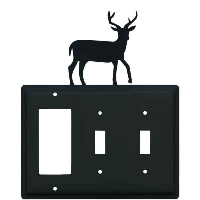 Deer 1-Gang GFCI Decorator Rocker Switch Plate Cover