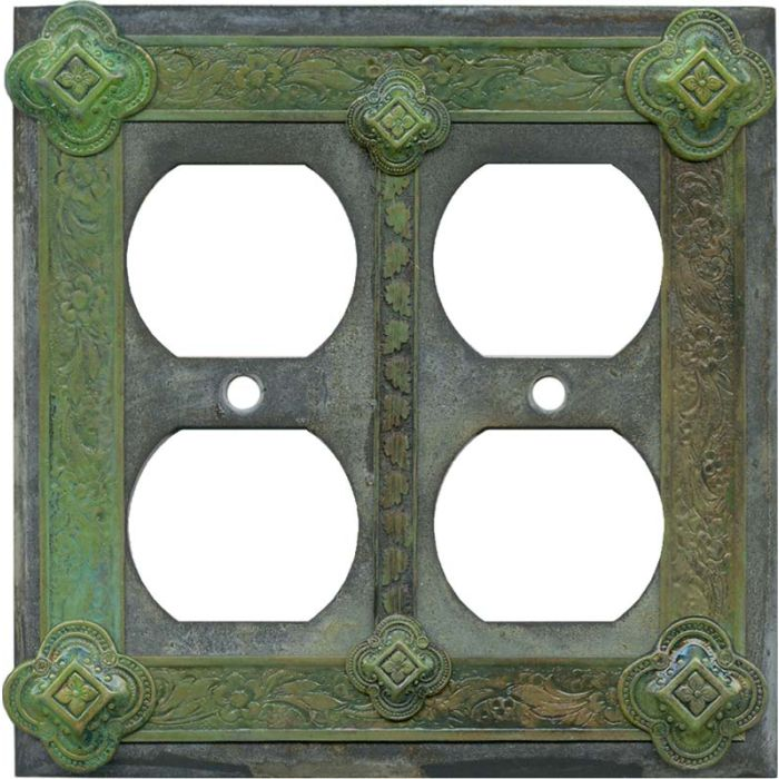 Design 2 Gang Duplex Outlet Wall Plate Cover