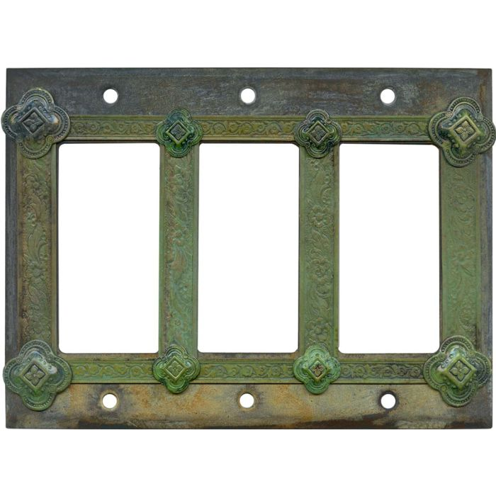 Design Triple 3 Rocker GFCI Decora Light Switch Covers