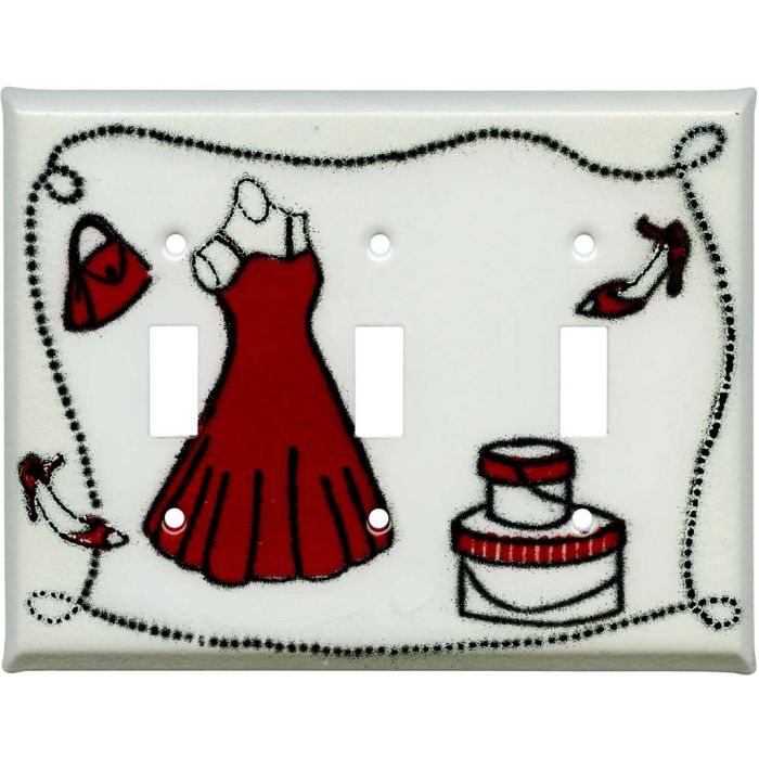 Dress and Shoes3 - Toggle Switch Plates
