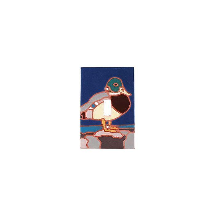 Duck Single 1 Toggle Light Switch Plates