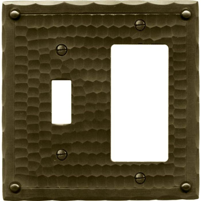 Field Style Combination 1 Toggle / Rocker GFCI Switch Covers