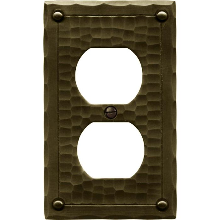 Field Style 1 Gang Duplex Outlet Cover Wall Plate