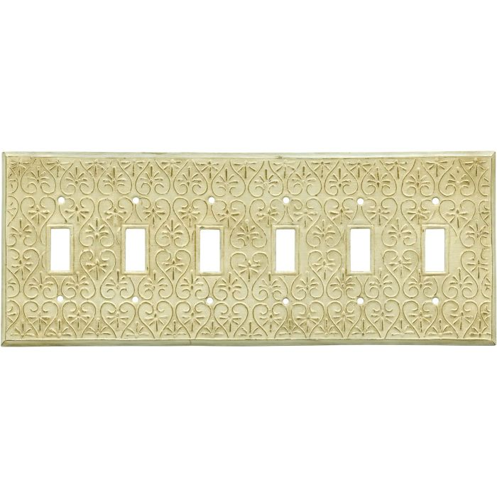 Filigree 6 Toggle Wall Plate Covers