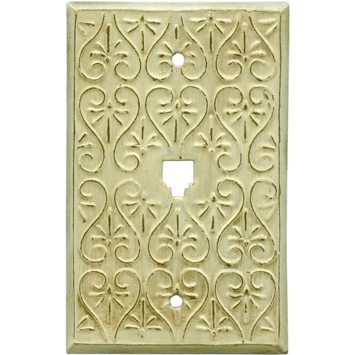 Filigree1 Toggle Light Switch Cover