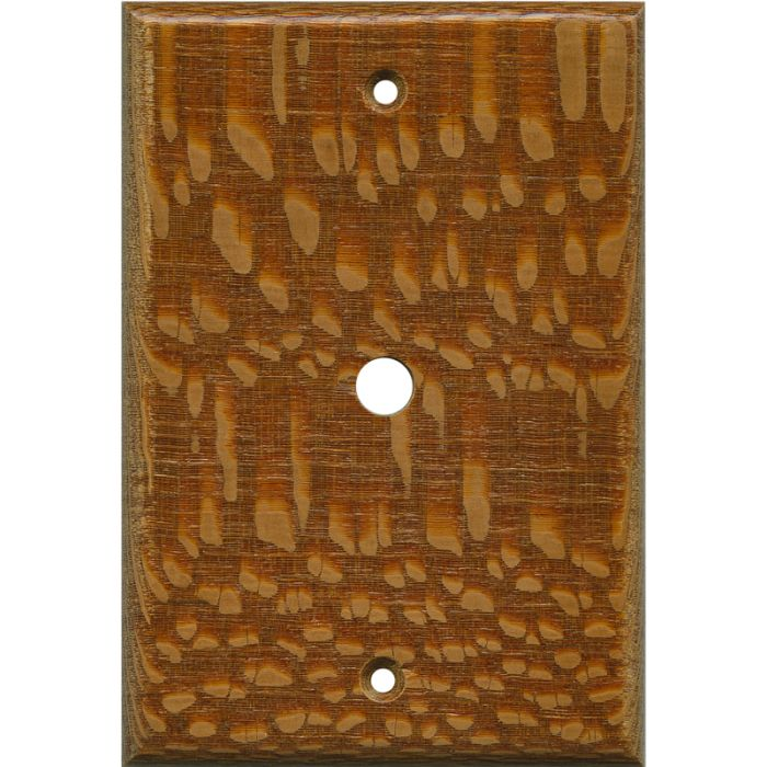 Fishtail Oak Satin Lacquer - Cable Wall Plates
